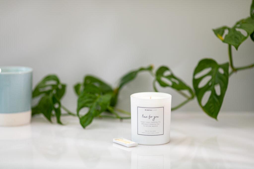 mindfulness aromatherapy candles